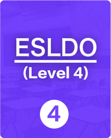 ENGLISH AS A SECOND LANGUAGE, LEVEL 4, OPEN, (ESLDO), 1 Credit