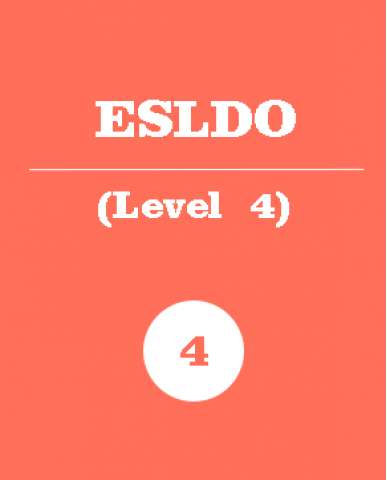 ENGLISH AS A SECOND LANGUAGE, LEVEL 4, OPEN, (ESLDO), 1 Credit