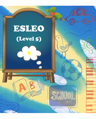 ENGLISH AS A SECOND LANGUAGE, LEVEL 5, OPEN, (ESLEO), 1 credit